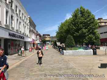 Blackburn and Burnley town centre spending recovers