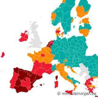 West- en Zuid-Europa steeds meer rood: bekijk hier de meest recente reisadviezen