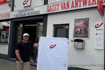 Krantenwinkel 't Gezellig Boekske breidt uit als officieel postpunt