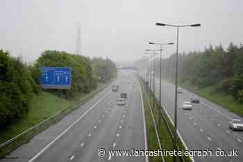 All lanes re-opened on M65 near Blackburn following collision