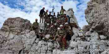 Sesto reggimento alpini di Brunico: concluso il corso avanzato di alpinismo - La Voce di Bolzano