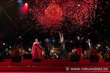 Carmen zingt aan Scheldeboord