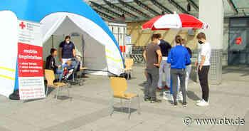 Amberg: Pop-up-Impfstationen am Kaufland und in der Innenstadt - Oberpfalz TV