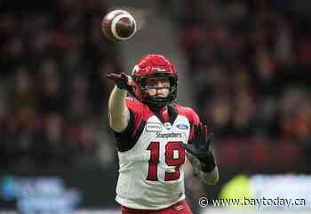 Bo Levi Mitchell leads a Calgary Stampeders lineup with a lot of new faces
