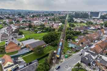 De P93 trekt zich op gang: de eerste 800 meter spoor zijn vernieuwd