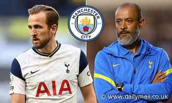 Harry Kane effectively rules himself OUT of Tottenham's Premier League opener against Man City