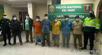 Capturan a 7 sujetos robando sacos de minerales en Palpa - Diario Correo