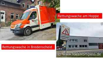 Oft entscheidende Minuten in Hattingen und Sprockhövel: EN-Kreis vergibt Rettungsaufträge neu – 1 RTW nachts weniger in Bredenscheid - Hattingen - Lokalkompass.de