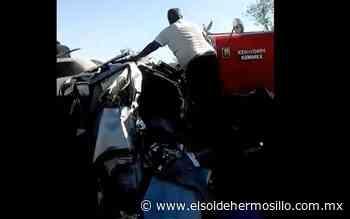 Accidente en tramo Santa Ana-Altar deja ocho lesionados - El Sol de Hermosillo