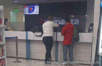 Delincuentes armados asaltaron el banco Serfinanza en el supermercado Sao - HOY DIARIO DEL MAGDALENA