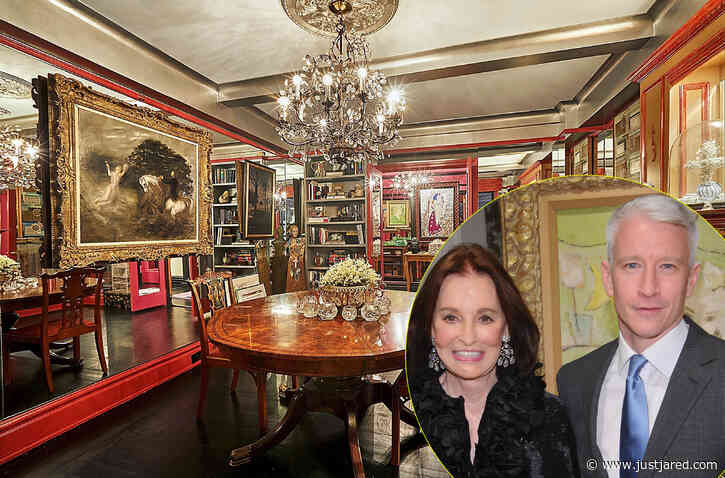 Anderson Cooper Is Selling Late Mother Gloria Vanderbilt's NYC Apartment for $1.125 Million - See the Photos