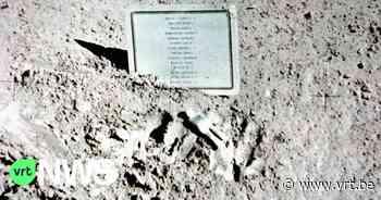 Enorme replica van enige kunstwerk op de maan onthuld in Antwerpen - VRT NWS