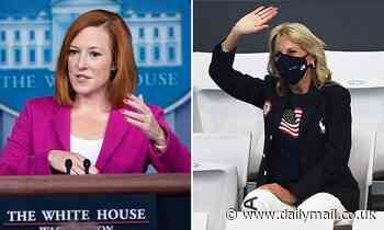 Jen Psaki says Team USA is invited to the White House after Olympics