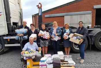 Vrijwilligers houden grote inzamelactie voor zwaar getroffen... (Meulebeke) - Het Nieuwsblad