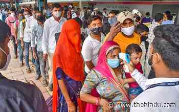 Coronavirus | Nearly 7,500 recoveries in Maharashtra - The Hindu