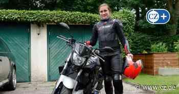 Nele Effinghausen gehört zu wachsender Zahl weiblicher Biker im Kreis Celle - Cellesche Zeitung