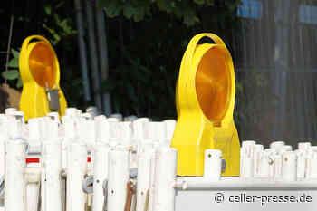 B214: Straßenbauarbeiten in der Ortsdurchfahrt Wietze - Celler Presse