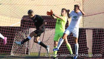 Kristian da la victoria al Salamanca CF UDS ante el Santa Marta - Salamanca 24 Horas