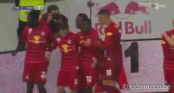 Barcelona vs. Salzburgo: Aaronson marcó el 2-1 de los 'Toros rojos' en el último minuto | VIDEO - El Comercio Perú