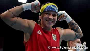 El curioso baile de la victoria de la boxeadora Beatriz Ferreira - Telemundo San Diego