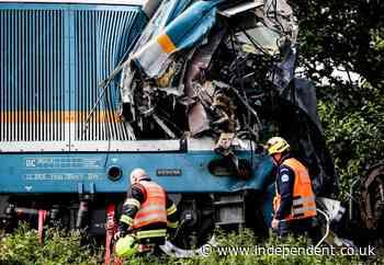 Three killed in train crash near Czech-German border