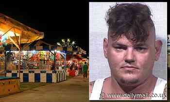 Indiana fairground worker is charged with murder after he strangled and punched co-worker