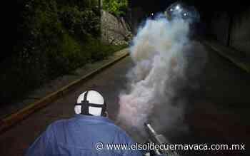 Jiutepec realiza jornada de nebulización para evitar dengue, zika y chikungunya - El Sol de Cuernavaca