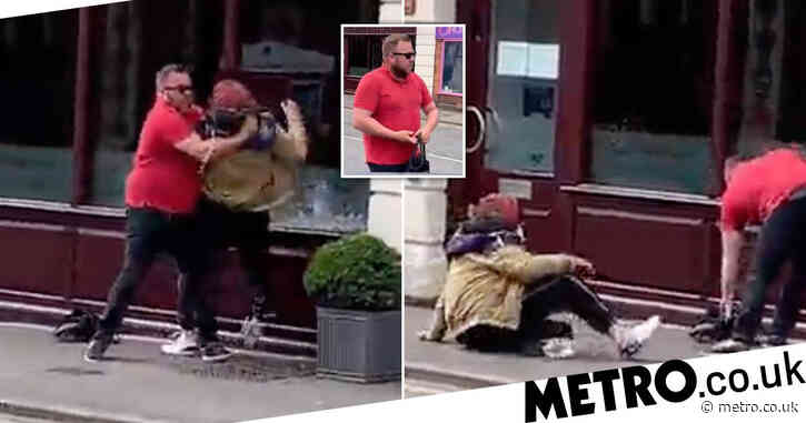'Hero' husband tackles 'bag-snatcher' to the floor and returns purse to owner