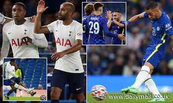 Chelsea 2-2 Tottenham: Steven Bergwijn and Lucas Moura fire Spurs level in friendly