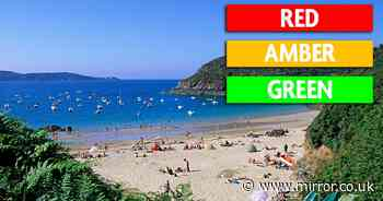 UK travel update: Full list of countries changing on Green, Amber and Red list