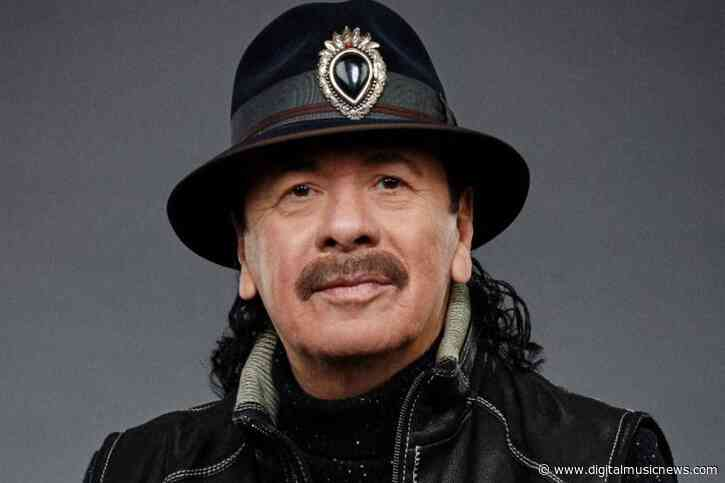 Carlos Santana Signs With BMG to Release New Studio Album
