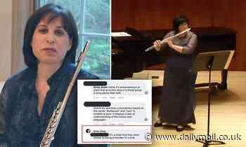 Baltimore Symphony Orchestra flutist FIRED for posting 'misinformation' on Facebook