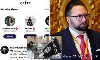 Jason Miller blames BIG TECH for claims his MAGA social media network was overrun by ISIS extremists