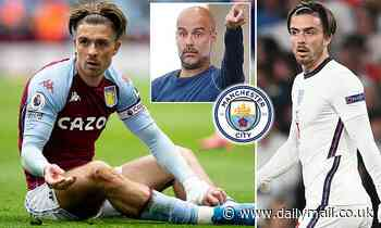 Jack Grealish to become the first English £100MILLION man with Manchester City move imminent