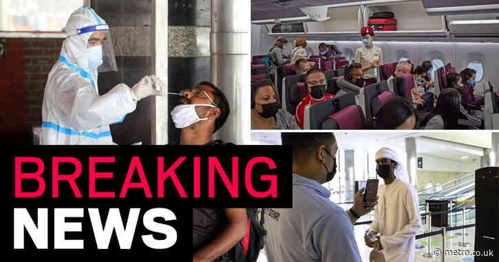 India and three other countries removed from red travel list