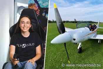 Zara (19) wil solo wereld rondvliegen ondanks vliegtuigcrash... (Sint-Genesius-Rode) - Het Nieuwsblad