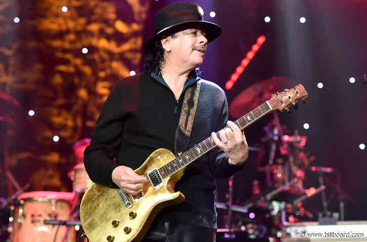 Santana to Release 'Blessings and Miracles' Album on BMG