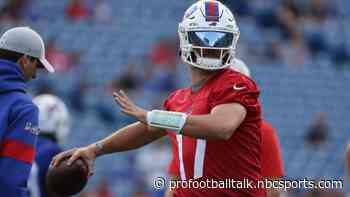 Josh Allen credits patience, consistency from Bills' coaches for his development