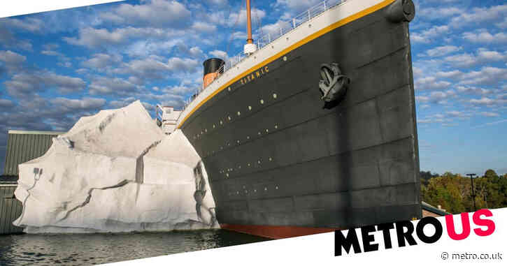 Iceberg wall at Titanic museum collapses and injures three visitors