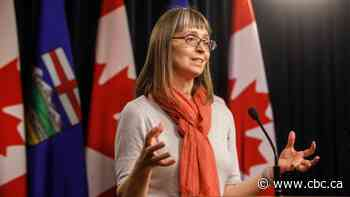 Alberta's chief medical officer of health sorry for causing 'confusion, fear or anger' on COVID-19