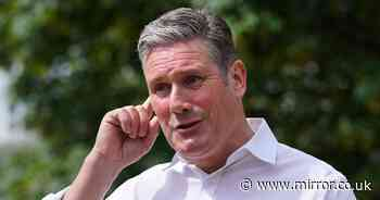 Keir Starmer calls for climate action as 75,000 green jobs lost under Tories