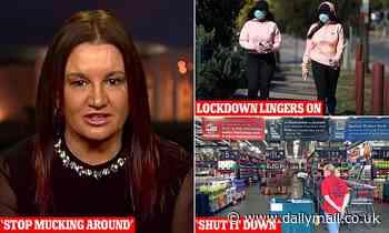 Coronavirus Australia Jacqui Lambie urges Gladys Berejiklian to stop 'mucking around' with lockdown