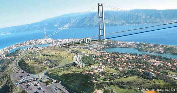 In Edicola sul Fatto Quotidiano del 5 Agosto: Il governo butta altri 50 milioni dal Ponte. Spreco continuo
