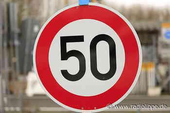 Detmold: falsches Schild lässt Autofahrer zu schnell fahren - Radio Lippe