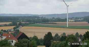 Inspektion eines Windrads: Ölwechsel in 100 Metern Höhe   Lokale Nachrichten aus Detmold - Lippische Landes-Zeitung