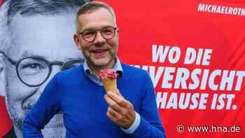 Wahlkampfauftakt der SPD: Staatsminister Michael Roth startet am Bad Hersfelder Lullusbrunnen mit Zuversich... - HNA.de