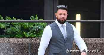 Dad avoids jail for punching wife to floor at theme park hotel in front of children