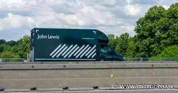 John Lewis hands lorry drivers £5,000 pay rises as shortage causes empty shelves
