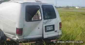 Texas crash: At least 10 killed as van packed with 25 migrants flips in horror smash