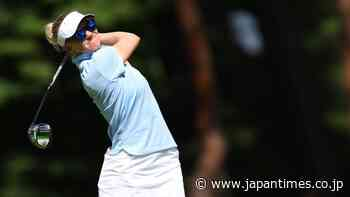 Sweden's Madelene Sagstrom takes one-shot lead as women's golf tees off - The Japan Times